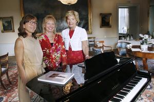 Programansvariga. Mia Geijer, länsantikvarie, Katarina Andreasson, musiker, och Maria Larsson, landshövding, har tillsammans satt ihop det nya konceptet