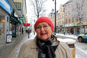 Bodil Grek, 69 år, Örebro– För mig är det viktigaste en stadsplanering som är till för människorna. Vi måste få en hållbar miljö för alla människor så man kan leva och bo. Framför allt bryta segregeringen i staden.