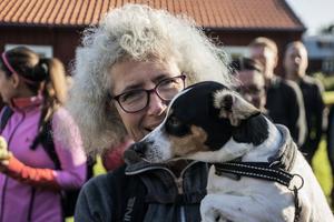 Tove Johansson och treåriga hunden Kira deltog för första gången.