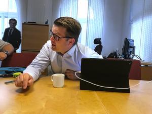 Anders Åhrlin (M) är oppositionsråd i Örebro.