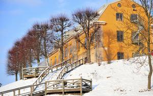 Efter turbulensen 2016 fick Oktoberteatern släppa aulan i Gamla flickskolan till kommunen som hyr ut den till alla teater- och musikgrupper i stan. Arkivfoto: Christina Hjalmarsson