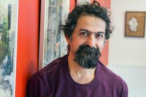 Gävles fristadskonstnär Seywan Saedian.