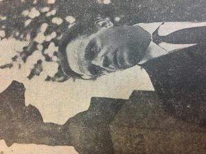 Lars Ahlin. Från ÖP:s förstasida.