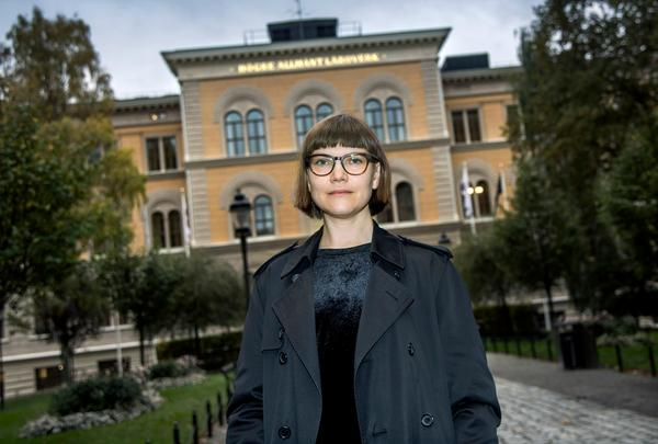 Sara Bergmark Elfgren. Foto: Claudio Bresciani / TT /Arkiv
