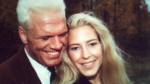 Frank Andersson och Susan Hardenborg förlovade sig på julafton 1988. Förhållandet varade i nästan tio år. Foto: Privat
