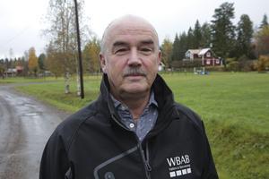 Starten för arbetena här i Saxdalen är lite beroende av när vi blir klara med pågående jobb i bland annat Kyrkviken, Saxhyttan och Dröverka, säger Tommy Norgren.
