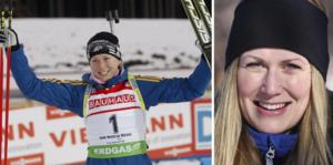 Helena Ekholm, en av Sveriges bästa skidskyttar genom tiderna. Foto: Arkiv