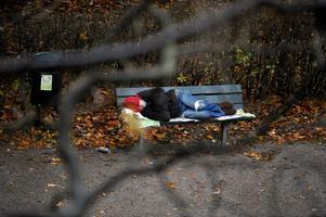 Hemlösheten ökar i Malmö. Foto: Bertil Ericson.