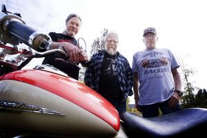 Paul Fogelman, Ulf Westin och  Roffe Persson reste i september på MC-semester i USA.