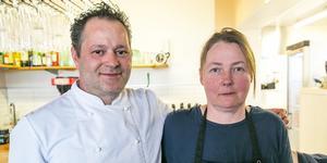 Det italienska paret Umberto Elia och Petra Mercandino är kända för sina pizzor och annan italiensk mat.