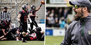 Timothy Speckman är ny tränare i Örebro Black Knights. Bild: Veronika Ljung-Nielsen och Privat.