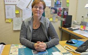 Lisbeth Ander är kommunens konsumentjuridiska rådgivare och sitter i Säter. Roland Engvall