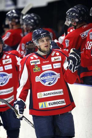Peter Lundqvist hade en trevlig kväll mot Njurunda.