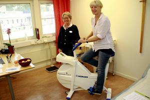 Totalt har Alert nio personer på enheten i Nordanstig, däribland Ulla Areskog och Margareta Sund.
