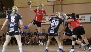 Linda Lindbeck gjorde fem mål. Foto: Mikael Stenkvist