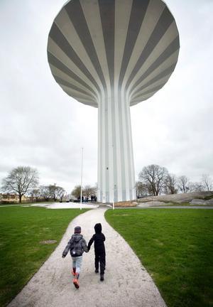 Kompisarna Mio Pettersson och Loke Kristensen besökte Svampen för första gången.