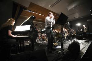 GUBB, Gävleborgs ungdoms big band, med Filip Jers på munspel var den stora höjdpunkten under årets upplaga av Kulturskolejazzen.