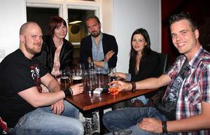 Bill & Bob. Lars, Tiia, Styr-Björn, Jeanette och Staffan