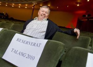 Bert Karlsson - en del av Talangjuryn.