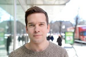 Gabriel Wikström, 28 år, förbundsordförande i SSU, Västerås: