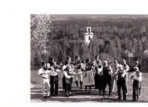Bjursås spelmanslag 1984.