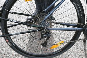 Bertil har 27 växlar på cykeln, men tror inte han har så stor nytta av de högsta på resan.