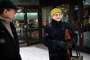 Ingrid och Bertil Jonsson, Duved:Har ni gjort någon budget för er privatekonomi?– Nej, det har vi inte gjort. Vi har aldrig haft anledning, säger Ingrid.