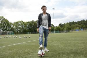Pontus Silfwers Frej har slagit sig in på den stora fotbollsscenen.