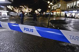 En rökbomb slängdes in i en lägenhet i Stråssa i på onsdagskvällen. Bilden är tagen i ett annat sammanhang.