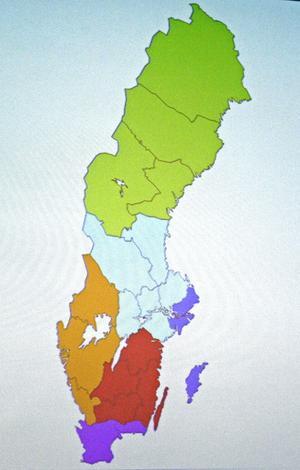 Indelningskommitténs karta som den presenterades i mars.