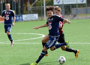 Kvarnsvedens IK (Viktor Ekervik Eriksson på bilden)  får sällskap i division 3 av ytterliagre tre dalalag nästa säsong.