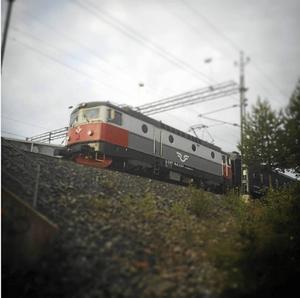 Inga tåg kommer att passera Söderhamn hösten 2021.   Foto: Fredrik Björkman