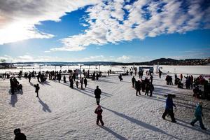 Vinterparken är en plats som kan besökas av turister som kommer till Östersund.