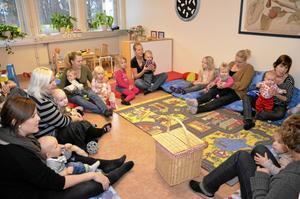 Öppna förskolan i Laxå har öppet på måndagar kl 13-15, tisdagar och onsdagar kl 9-12.