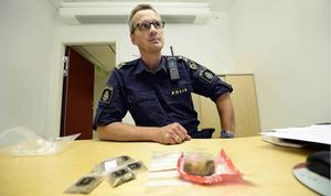 Henrik Blusi vid Sundsvallspolisen har inte hört att den fruktade supermandrogen ska finnas i Sundsvall.