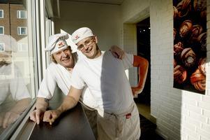 Lasse Johansson och Ove Eriksson driver bageri Kringlan. Nu öppnar de brödbutik.