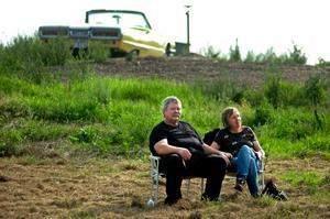 Henry Bäck och Ingrid Sköldin gillar både musiken och miljön på Kvarntorpshögen.