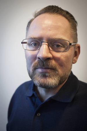Sven-Erik Svensson, ordförande i Jämtlands polisförbund.