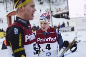 Jens Burman tog karriärens första indviduella SM-medalj som senior när han åkte hem bronset i skiathlonloppet.