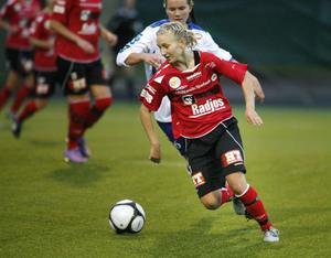Madde Pettersson blev tvåmålsskytt mot Ope.