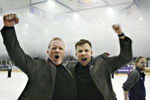 Lenny Eriksson, till vänster, tar över Bik Karlskoga.