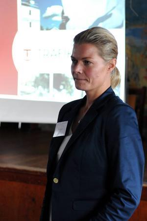 Åsa Bergqvist, projektledare Trafikverket Fotograf: Sven Thomsen. Arkivbild.