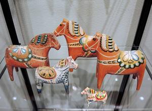Familjen Nissers från Vattnäs hästar.