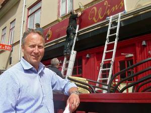 Per-Åke Wahlund ser namnbytet som ett avstamp för en nysatsning på restaurangen, som länge varit en etablerad träffpunkt på Prästgatan.