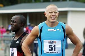 Johan Wissman imponerade i lag-SM. Bilden är från en tidigare tävling i Sundsvall.