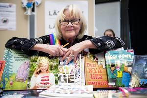 Ingrid Lundmark från Kulturenheten var glad över den kulturella bredden.