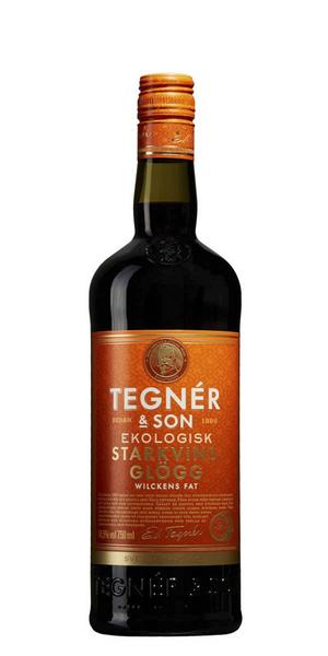 96002 Tegnér & Son Wilckens Fat Starkvinsglögg för 82 kronor (75 cl), sött med balanserad kryddig smak av kardemumma, kanel och fatkaraktär. Det röda vinet som är grunden i tillverkningen är framställt på ekologiskt odlade druvor. Ekologisk!