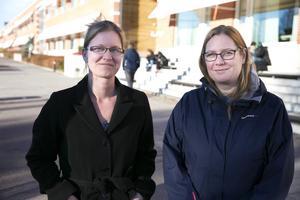 Madelen Lagin, doktorand och forskare inom handel, och Carin Nordström, universitetslektor, tror att hopslagning kan spara in administration. Men lokalfrågan är inte löst, betonar de.