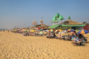 Nu ska det bli lugnare på Goas stränder.