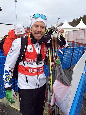 Emil Jönsson ersätter Marcus Hellner. Jönsson kunde som bekant inte ställa upp i Falu-VM på grund av skada, men han känner sig redo, med